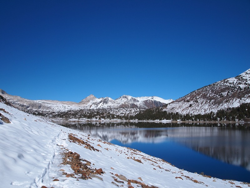 Trail into Twenty Lakes Basin